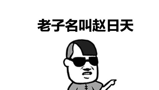 7ad9e9a372eb747ef3626c90f7aacba2.png 赵日天 热词百科